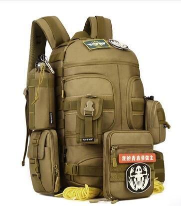 35litro Outdoor zaino tattico militare appassionati borsa a tracolla uomini e donne esercizio equitazione alpinismo fotografia borsa per fotocamera
