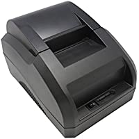 Xfox 5890C Thermal Printer USB Port POS Thermal Receipt Printer compatible 58mm Thermal Paper Rolls - 90mm/sec High-speed Printing with ESC / POS Print Commands.