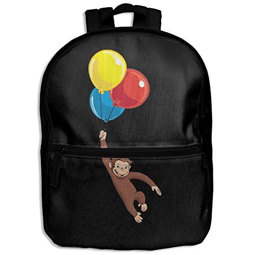 Kid's Children's Backpack School Bag Curious George