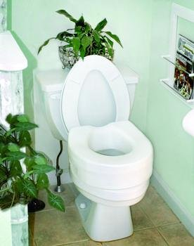 Invacare Raised Toilet Seat by Invacare