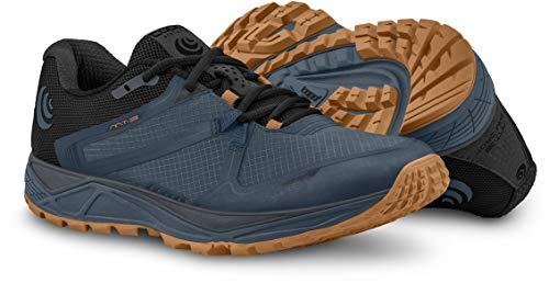 Topo Athletic Men's MT-3 Trail Running Shoe, Slate/Orange, Size 13