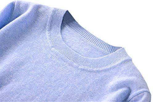 Light blue cashmere sweater women