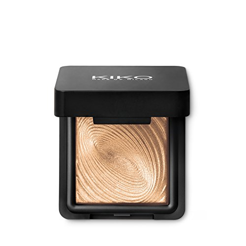 KIKO MILANO - Water Eyeshadow - Instant color eyeshadow, for wet and dry use. Light Gold 208 (Kiko Milano Best Sellers)