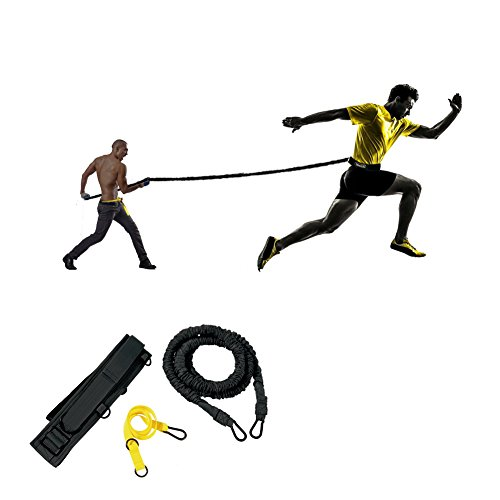 Pseudois Resistance Bungee Band, Running Training Bungee Workout Band, Speed Strength, Basketball and Football Equipment for Improving Strength, Power and Agility by Pseudois