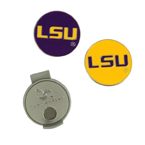 Team Effort LSU Tigers Hat Clip & 2 Ball ()