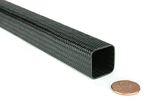 Amazon.com: Trenzado de fibra de carbono Plaza Tubing – 0.75 ...