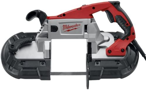 Milwaukee 6238-20 AC DC Deep Cut Portable Two-Speed Band Saw, Red