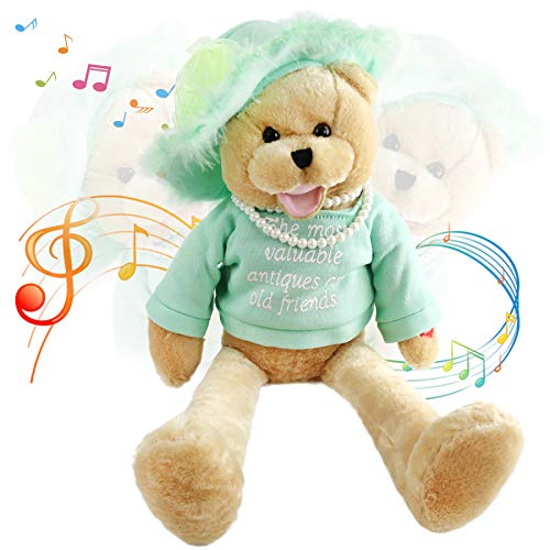 Houwsbaby Musical Teddy Bear with Pearl Sings