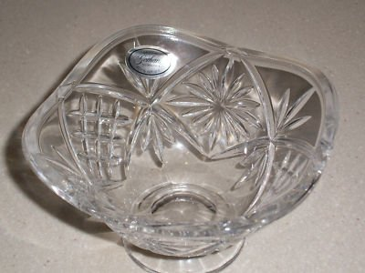(Gorham Czech Republic Crystal Candy Nut Bowl Dish or Votive)