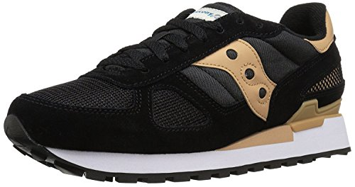 Saucony Originals Men's Shadow Original Sneaker, Black/tan, 35.5 D(M) EU/2.5 D(M) UK