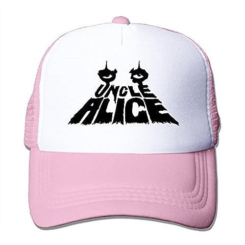 Women Men Uncle Alice Cooper Eyes Snapback Mesh Trucker Cap -5 Colors (Dodge Night Runner)