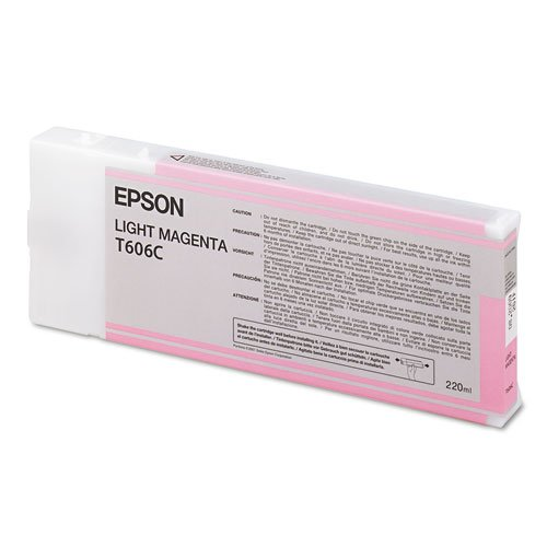 Epson UltraChrome K3 Ink Cartridge - 220ml Light Magenta (T606C00)