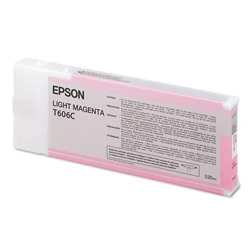 Epson UltraChrome K3 Ink Cartridge - 220ml Light Magenta (4800 Magenta Ink)