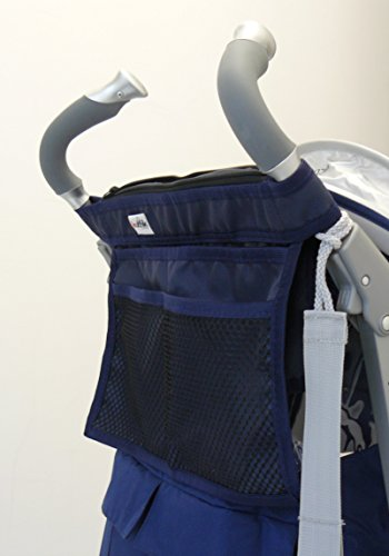 Kutnik Bolsa de almacenamiento para cochecitos paraguas - Azul marino osc