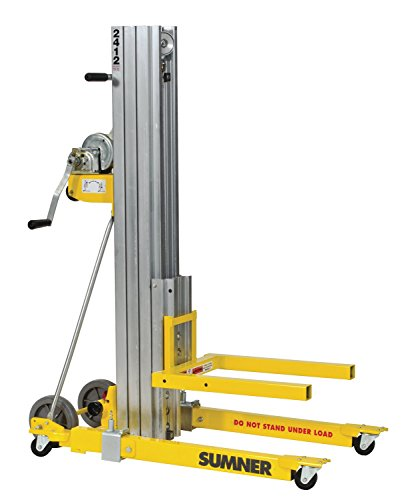 Sumner Manufacturing 784750 2412 Contractor Lift, 12' Height, 400 lb. Capacity by Sumner Manufacturing
