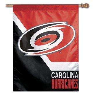 NHL Carolina Hurricanes Vertical Flag, 27' x 37'