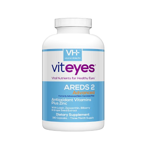 VITEYES® AREDS 2 Advanced Formula, 180 Ct (Packaging May Vary)