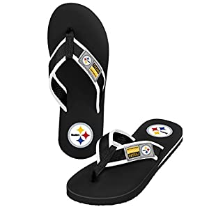 NFL Pittsburgh Steelers Men's Locker Label Contour, Large, Black from SteelerMania