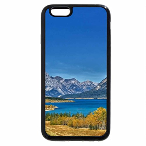 iPhone 6S Case, iPhone 6 Case (Black & White) - highway to gorgeous nature landscape hdr