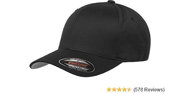 bd1bcdaf024 Flexfit Men s Athletic Baseball Fitted Cap at Amazon Men s Clothing ...