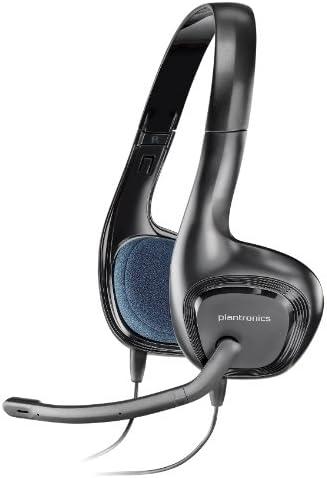 Amazon Com Plantronics Audio 628 Stereo Usb Headset Audio 628