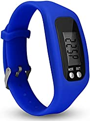 Mendian Pedometer Watch with LCD Display Simple Operation Walking Fitness Tracker Wrist Band Digital Step Coun