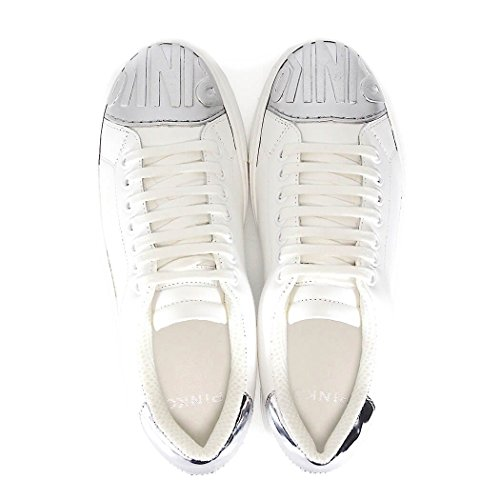 Eu 37 Pinko Femme Blanc Baskets Pour wxAA6q1X