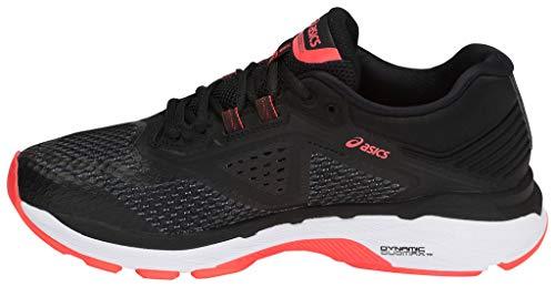 6 para Gt Running de 2000 Mujer rose Asics corail noir Zapatillas TEYcq