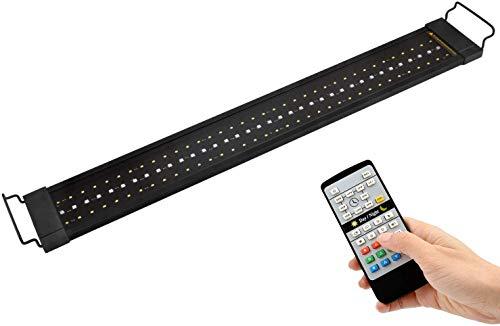 NICREW RGB Plus Aquarium Light, Freshwater Aquarium LED Light with Remote Controller, 24/7 Automated Aquarium Lighting, 30 to 36-Inch, 22W