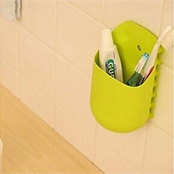 Canguro Soporte para cepillo de dientes, Eco-Friendly Plastic Organizador herramienta de cocina color aleatorio: Amazon.es: Hogar