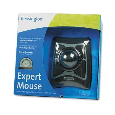 Kensington - Trackball Expert Mouse Scrollring Black/Silver ''Product Category: Computer Components & Peripherals/Mice & Trackballs''