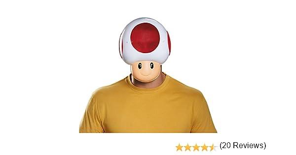 Máscara Toad adulto: Amazon.es: Juguetes y juegos