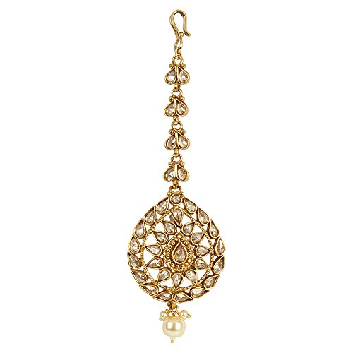 MUCH-MORE Indian Amazing Style Party wear Maang Tikka Forehead Traditional Jewelry (MT-2341) by MUCH-MORE