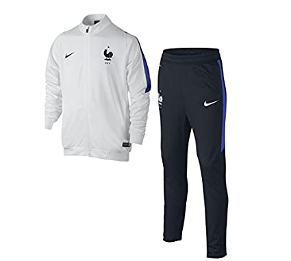 2018 shoes great deals low priced Nike FFF REV KNT Tracksuit Survêtement de la Gamme de la Fédération  française de Football pour Homme