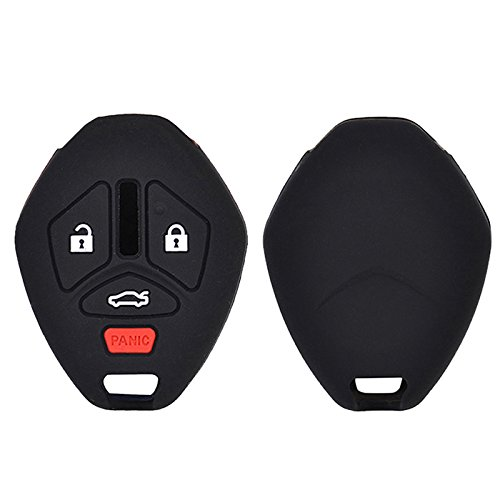 4 Button Fit For Mitsubishi Lancer Evo Outlander Galant Asx 380 Endeavor Mirage Fob Shell Silicone Remote Key Cover Case Skin -