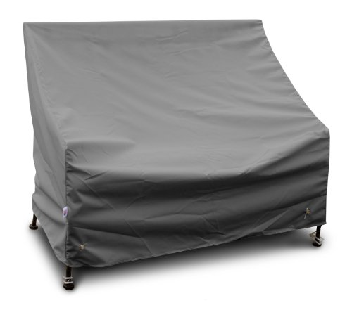 KoverRoos Weathermax 87351 Highback Loveseat/Sofa Cover, 49-Inch Width by 34-Inch Diameter by 40-Inch Height, Charcoal by KOVERROOS