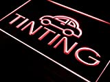 ADVPRO Tinting Car Auto Parts Repairs LED Neon Sign Red 16'' x 12'' st4s43-i464-r