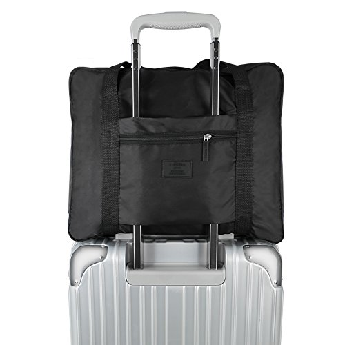 Foldable Travel Bag, Echeer Storage Carry Luggage Airlines F