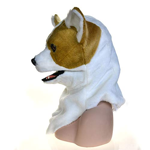 WANDAELITE Fashion Innovative Cartoon Full Head Animal Moving Mouth Cosplay Carnival Costume Dog Bleach Animalmasks For Sale Realistic image Animal Mask Party accessories dress up game Simulated -