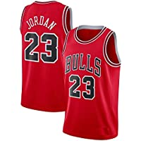 Basketball Chicago Bulls Michael Jordan Red Jersey with Shorts