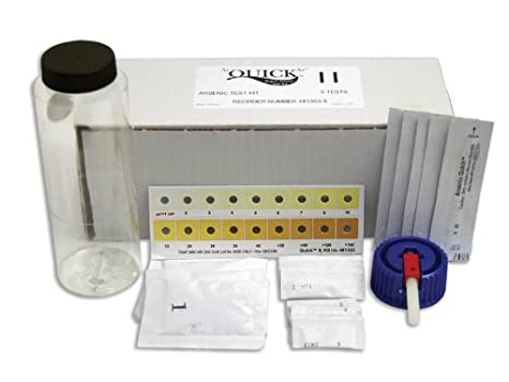 Industrial Test Systems Quick II 481303-5 Arsenic for Water Quality Testing, 5 Tests, 14 Minutes Test Time