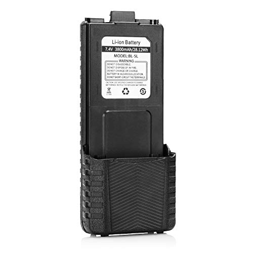 Best Review Of Baofeng BL-5L 3800mAh Extended Battery Compatible with UV-5R RD-5R UV-5RTP UV-5R Plus...