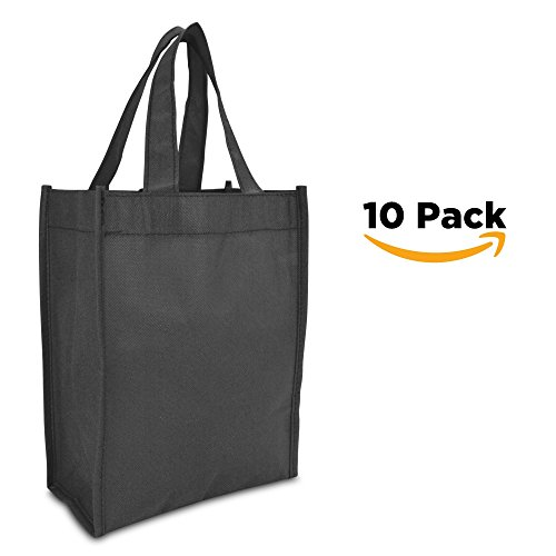 "DALIX 10"" Mini Shopping Totes Small Resuseable Bags for Wome"