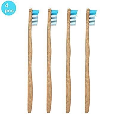 Genkent Bamboo Toothbrush-Natural &Eco Friendly- Dental Care for Adult