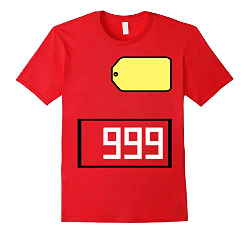 Mens Game Show Group Halloween Costume T-Shirt XL Red