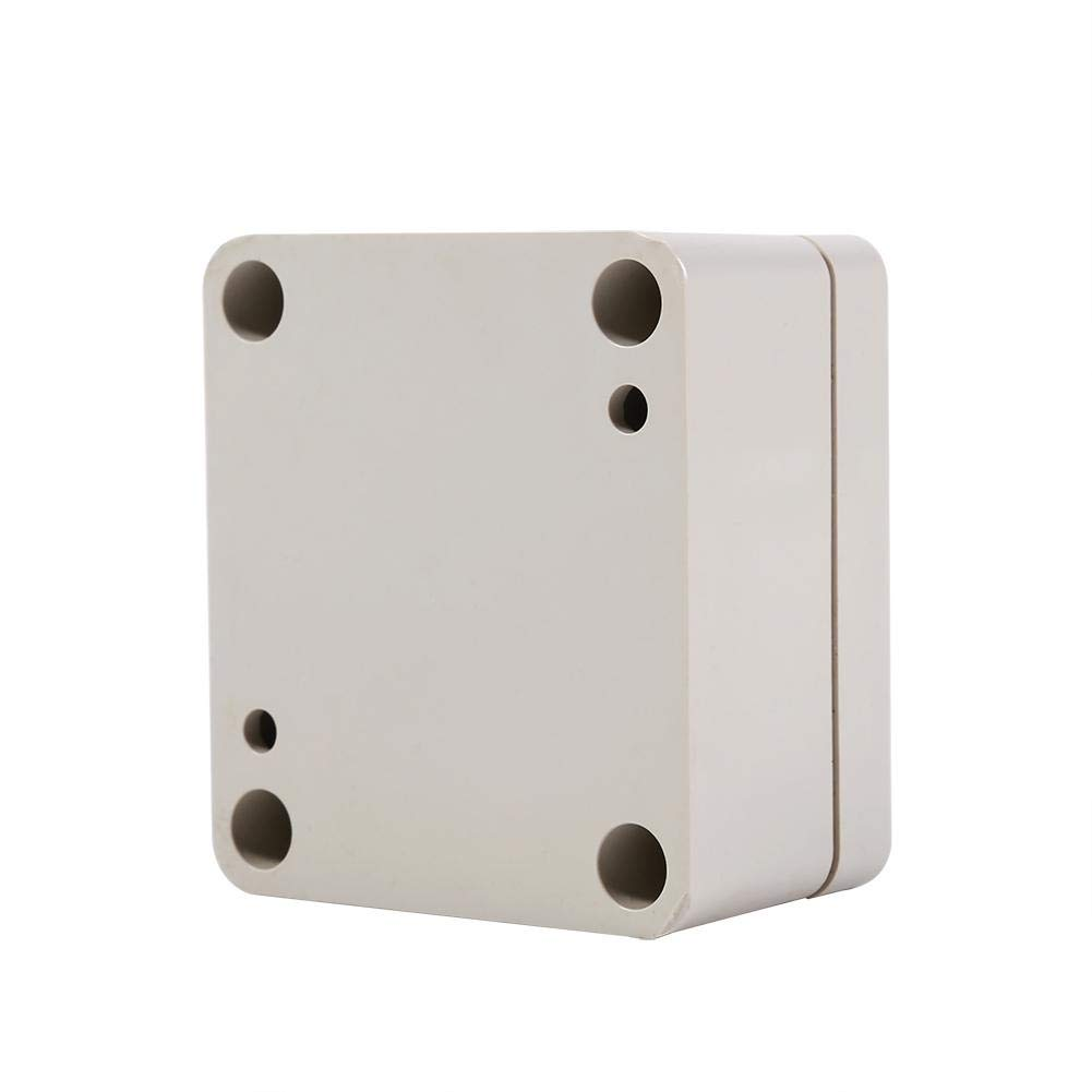 1PC ABS Waterproof Junction Box, Good Sealing Performance, Long Service Time, 2 Sizes for Your Choice(656035mm)