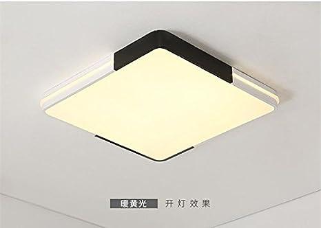 Juzhijia Wohnzimmer Lampe Led Quadratisch Deckenleuchte Home Studium