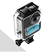 Waterproof Case for Gopro Max Action Camera, Underwater Diving Protective Housing 40M with Bracket Accessories
