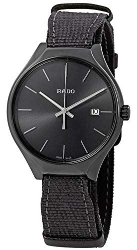 Rado Men's Quartz Watch R27232106 (Men Watch Leather Rado)