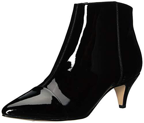 Sam Edelman Women's Kinzey 2 Fashion Boot Black Patent 8.5 W US